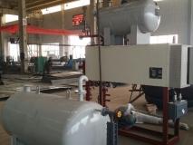 电加热导热油炉安装好整体出厂