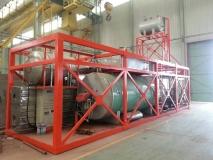 出口产品整装燃气导热油炉