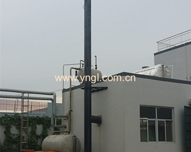 100万燃天然气导热油炉在北京韦尔普顿生物科技有限公司