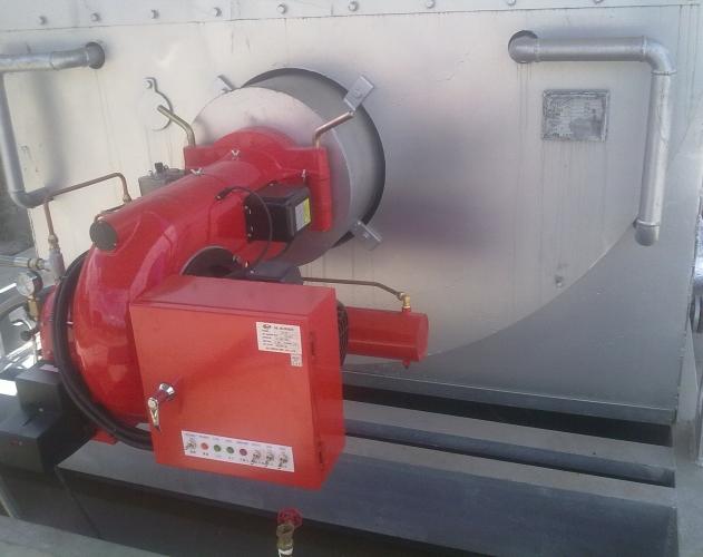 燃非标柴油锅炉燃气导热油炉在保定投入运行